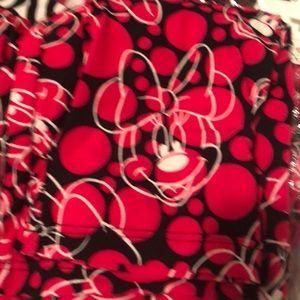 LulaRoe Minnie Mouse Disney Legging